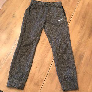 Nike Kid's Legging Gray Sweatpants Size Medium